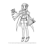 How to Draw Merli from Vocaloid