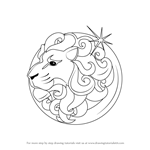 How to Draw Leo Zodiac Sign