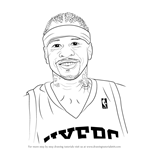 How to Draw Allen Iverson