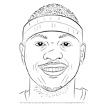 How to Draw Carmelo Anthony