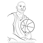 How to Draw Kobe Bryant