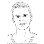How to Draw Kristaps Porzingis