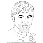How to Draw Manny Pacquiao