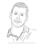 How to Draw Adam Sandler