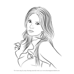 How to Draw Ashley Benson