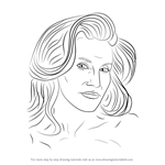 How to Draw Caitlyn Jenner