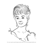 How to Draw Debbie Reynolds