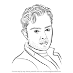 How to Draw Ed Westwick