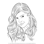 How to Draw Eva Mendes