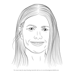 How to Draw Gwyneth Paltrow