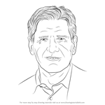 How to Draw Harrison Ford