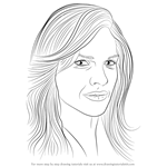How to Draw Hilary Swank