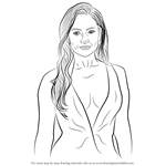 How to Draw Jennifer Lopez