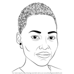 How to Draw Lupita Nyong'o