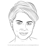 How to Draw Michelle Williams