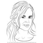 How to Draw Nicole Kidman