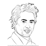 How to Draw Robert Downey Jr