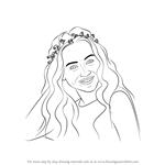 How to Draw Sabrina Carpenter