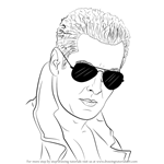 How to Draw Salman Khan