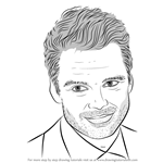 How to Draw Sebastian Stan