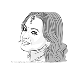 How to Draw Sonakshi Sinha