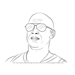 How to Draw Vin Diesel