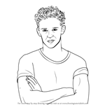 How to Draw Matteo Balsano from Soy Luna
