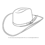 How to Draw Cowboy Hat