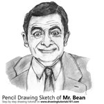 How to Draw Mr. Bean
