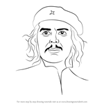 How to Draw Che Guevara