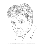 How to Draw Gordon Ramsay