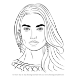 How to Draw Lily Aldridge