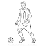 How to Draw Bastian Schweinsteiger