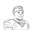 How to Draw Brandon Marshall