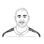 How to Draw Karim Benzema