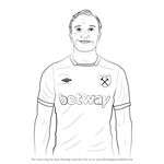 How to Draw Mark Noble