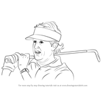 How to Draw Phil Mickelson