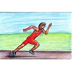 How to Draw a Cartoon Runner