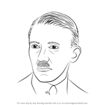 How to Draw Adolf Hitler