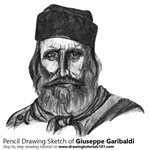 How to Draw Giuseppe Garibaldi