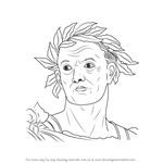 How to Draw Julius Caesar