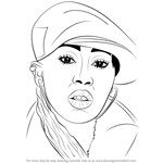 How to Draw Missy Elliott
