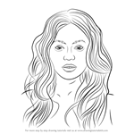 How to Draw Beyonce Knowles