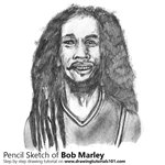 How to Draw Bob Marley