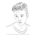 How to Draw Justin Bieber