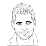 How to Draw Michael Bublé