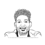 How to Draw PnB Rock