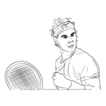 How to Draw Rafael Nadal
