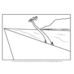 How to Draw One Point Perspective Beach