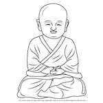 How to Draw a Child Buddha